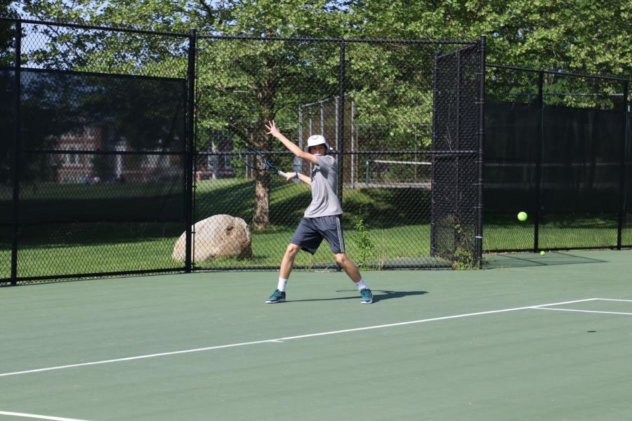 Boys Varsity Tennis Competes in New England Championship Finals