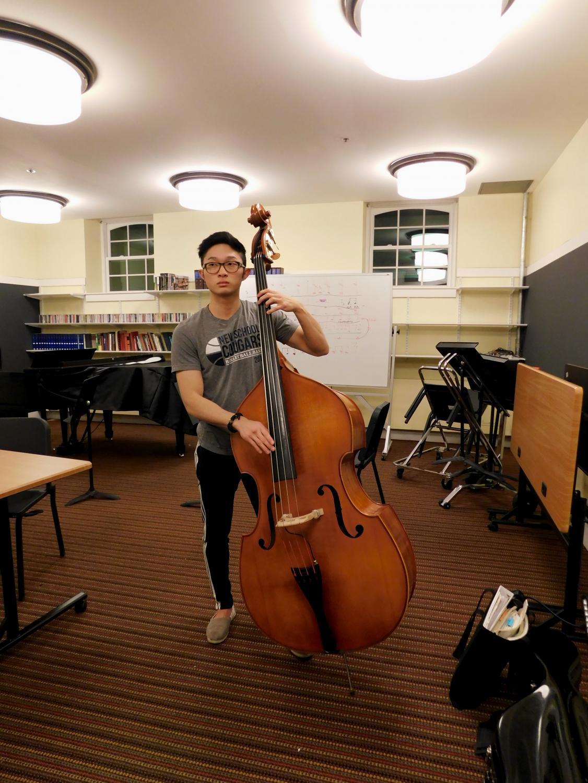 Andrew Practicing
