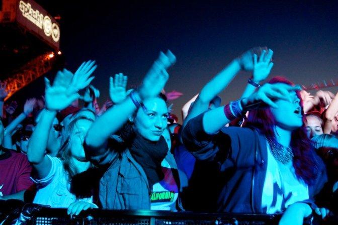 Fans at a concert / / Photo taken by: Der Robert