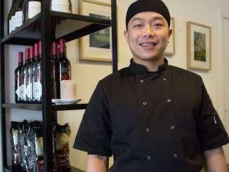 Chef - Jay Wang. Half body.