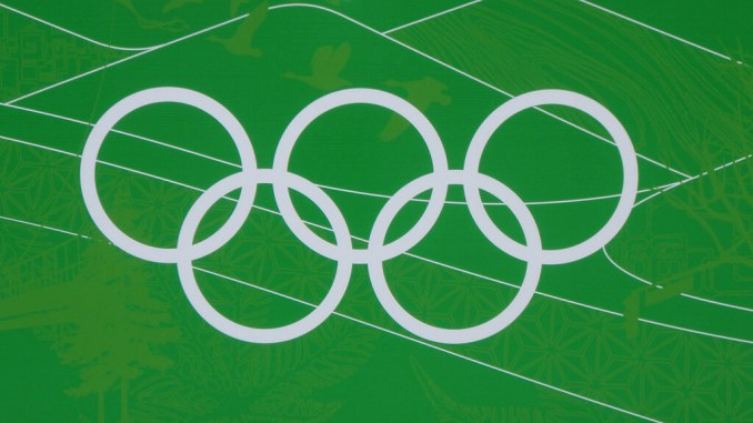 Olympics symbol. Photo Credit: Christine Rondeau