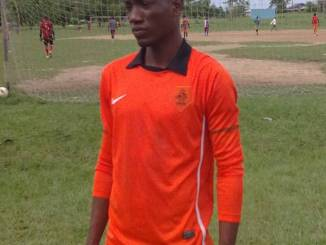 Akintunde Ige is still looking for his big break in football. Photo: Ayo Akinshilo