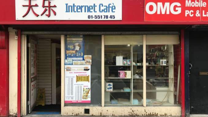Internet Cafe in Dublin