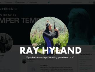 Ray Hyland Irish filmmaker