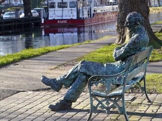 Dublin Canal Patrick Kavanagh Statue