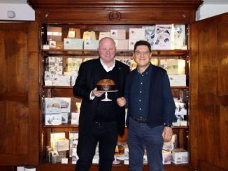 Dario Loison with Bruno Gambacorta