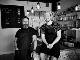 Coffee Works owners Graeme & Tristan Campher