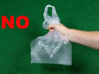 Don't use plastic bags