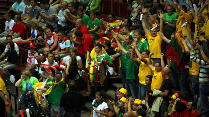 Lithuanian basketball fans