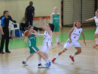 Irish U18 women's team