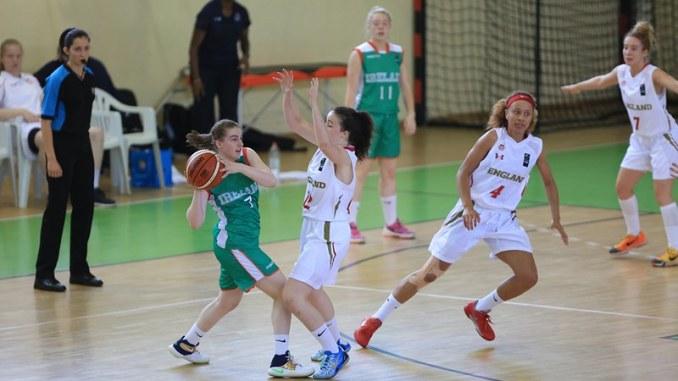 Irish U18 women's team