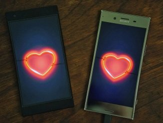phones connected by a love match