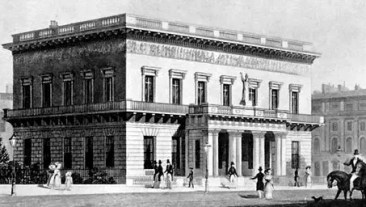 The Athenaeum Club in 1830