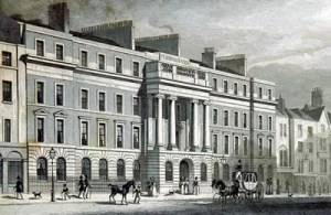 Image of Furnival's Inn from 1828.