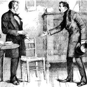 Ferdinand Barnacle and Arthur Clennam.