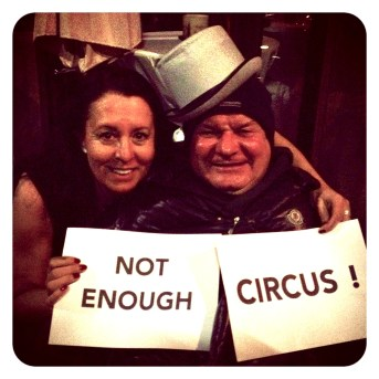 NOT ENOUGH CIRCUS