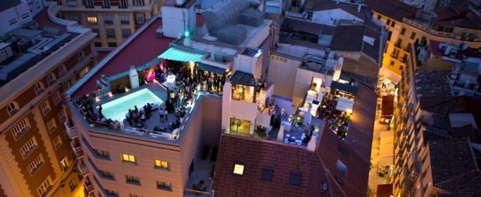 Rooftopbars in Malaga