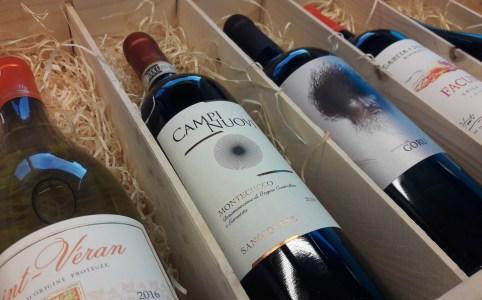 Wijn-spijs service van Grapedistrict