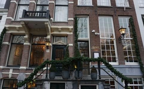 Brasserie Ambassade. Lunchen aan de Amsterdamse grachten