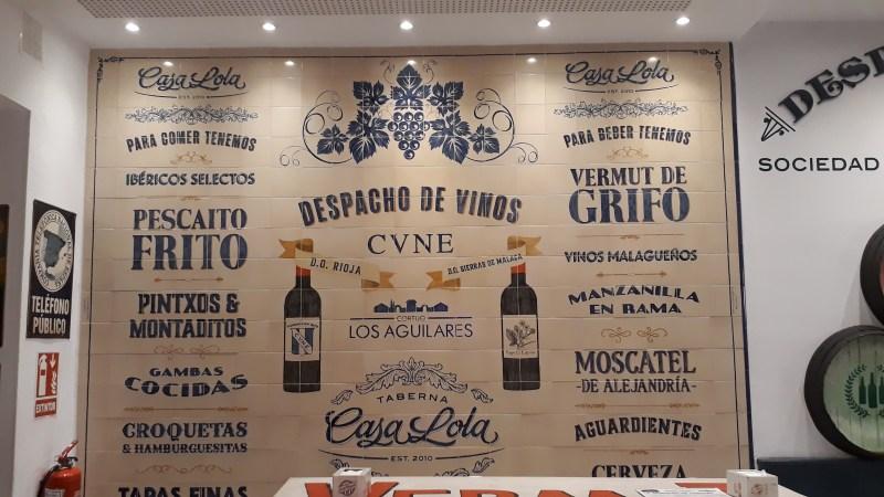 Restaurants in Malaga