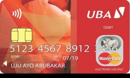 Mastercard for uba african markets