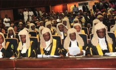 Image result for NJC refuses to suspend arrested Supreme Court Judges
