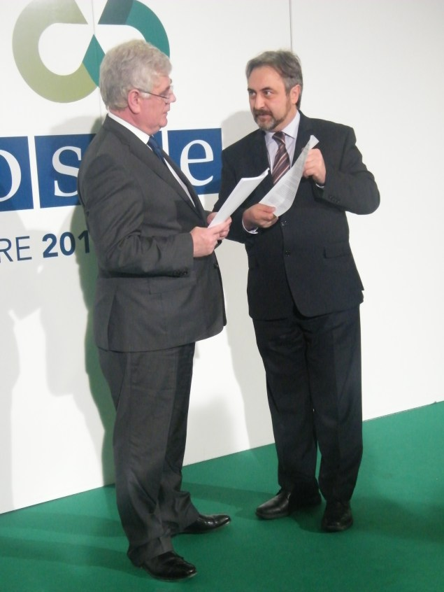 Eamon Gilmore agreed to the Civic Solidarity Pact. photo:Martha Gberevbie