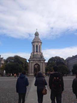 The Campanile sits at the heart of the Trinity College campus.