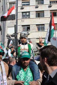 Hamas Rally in Damascus