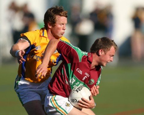 O'Connor competes with Laois team-mate and Leitrim sanction Kevin Meaney.