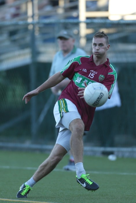 Kerry's Paul O'Donoghue, who scored 0-7 in the final