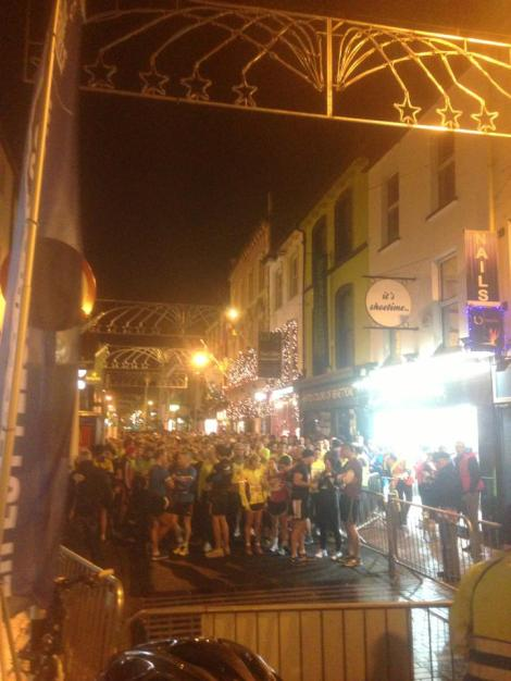 Over 2000 runners took part in the event in Cork, despite the cold winter.