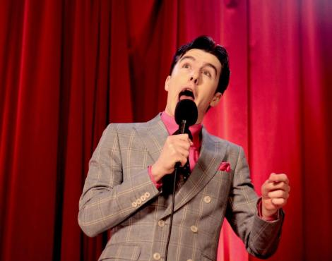 Al Porter performing at the RTE New Comedy Awards
