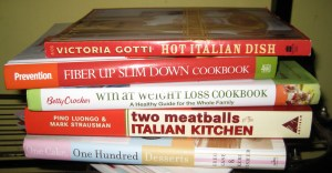 Ready, Steady, Read! Cookbooks are a useful starter guide but may have more content than needed. Photo credit: natalie's new york on Flickr.