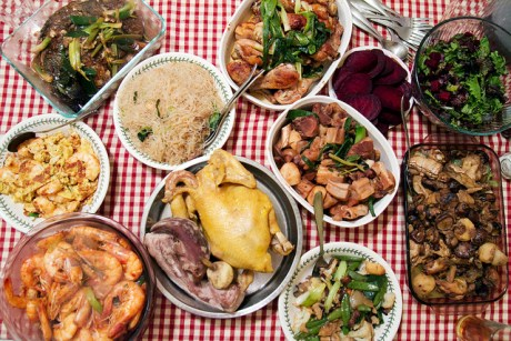 Traditional New Year's Eve meal. CC Image courtesy of Robyn Lee