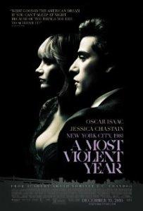Albert Brooks, Alessandro Nivola, David Oyelowo, Oscar Isaac and Jessica Chastain in A Most Violent Year. (IMBD)