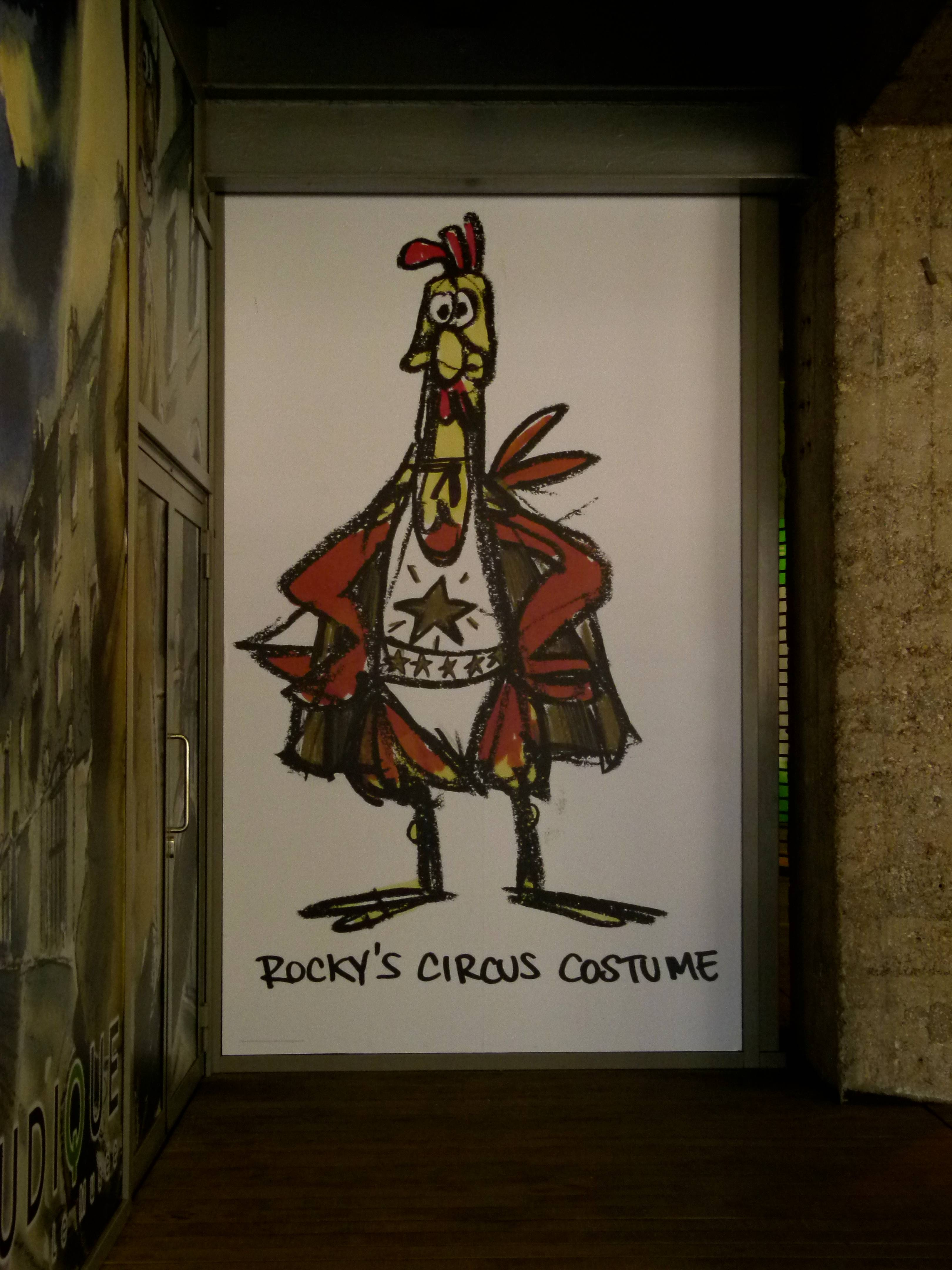 Chicken Run – Concept Drawing