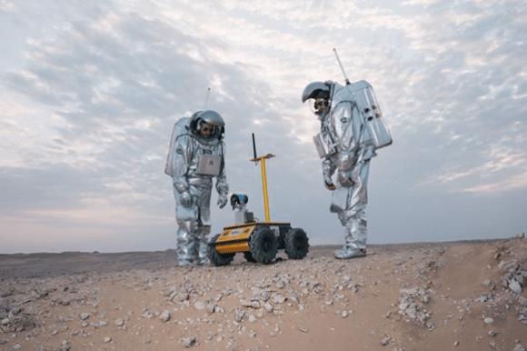 Life on Mars recreated in Oman