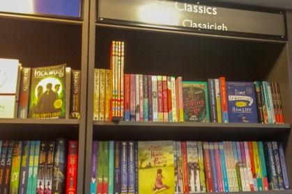 Children's Classic Section, Hodges Figgis, Dawson St