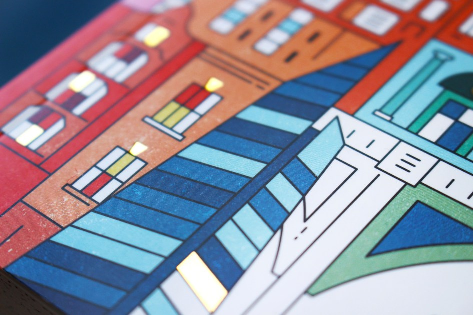 Lost in London colouring book by The City Works