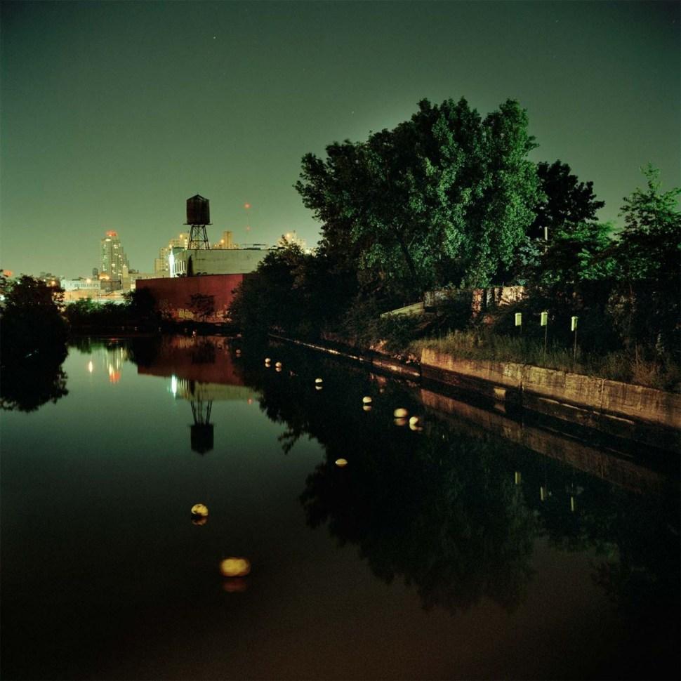 'Green Canal' by Miska Draskoczy, courtesy of Tepper Takayama Fine Arts.