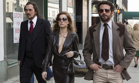 A scene from American Hustle. Courtesy: The Guardian.
