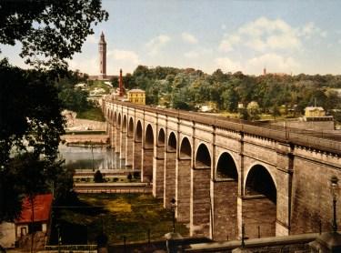 High Bridge in 1900 (Wikipedia)