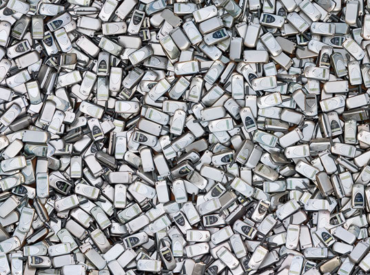 cellphone waste