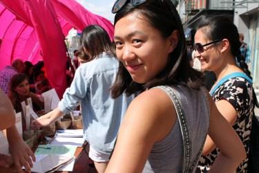 Writer Kuntian Yu (Photo: C. Zaccheo)