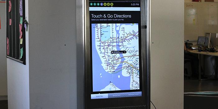 interactive subway map