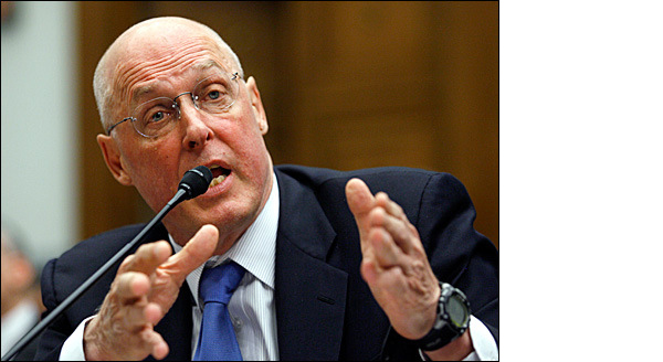 Henry Paulson, former U.S. Secretary of the Treasury