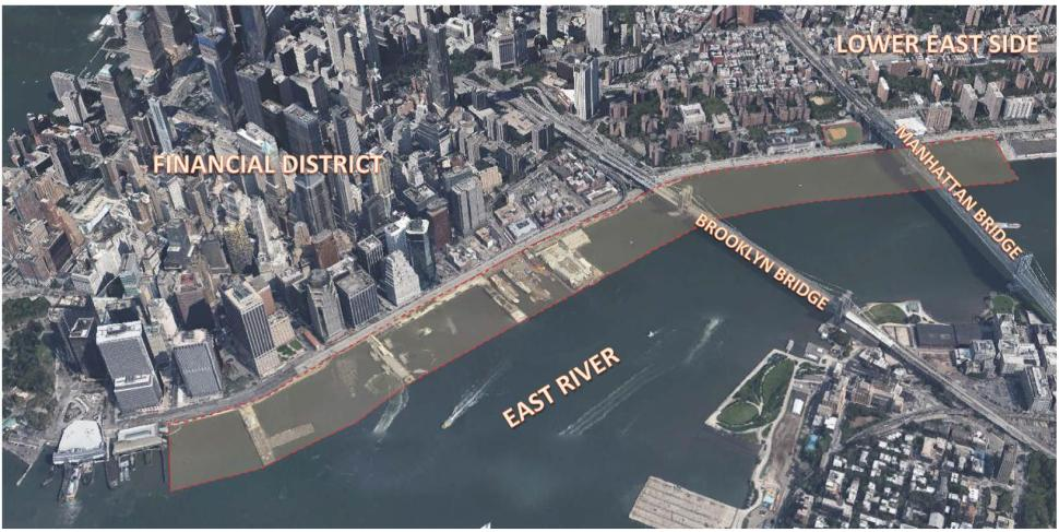 Proposed location of Seaport City. (Photo: Arcadis)