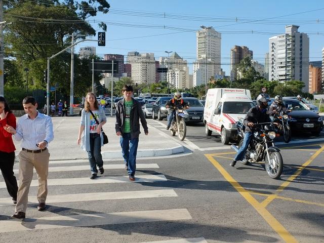 São Paulo. Fotoğraf: Fred Inklaar