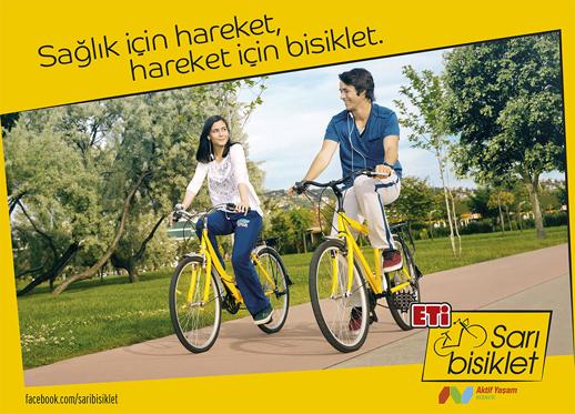 Eti Sarı Bisiklet Projesi